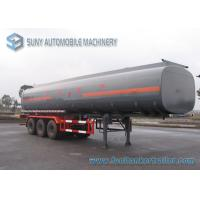 Buy cheap Customized Oil Tank Trailer 42000L Trapezoid Alcohol Chemical Tank Trailer 0.9 Bar from wholesalers