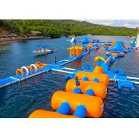 Buy cheap Large Inflatable Water Obstacle , Aqua Blow Up Water Park CE Approved from wholesalers
