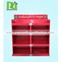 Buy cheap Advertising Board Cardboard Display Shelf Stand For Exhibition from wholesalers