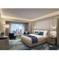 Buy cheap Custom Made Modern Hotel Bedroom Furniture Set With Fixed Furniture from wholesalers