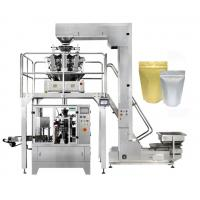 Buy cheap 8 Station Stand Up Pouch Packaging Machine , Zipper Pouch Doypack Packing Machine from wholesalers