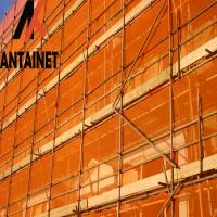 Buy cheap Flame retardant HDPE  orange safety net for construction in China from wholesalers