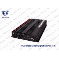 Buy cheap All GSM CDMA Mobile Phone Signal Jammer 50 - 60Hz Power Supply Easy Operation from wholesalers
