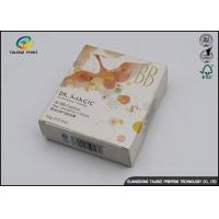China BB Cream Cosmetic Packaging Boxes with Insert Tray / Offset Printing on sale