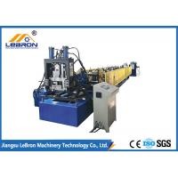Buy cheap 10 Meter C Z Purlin Roll Forming Machine High Efficiency Durable PLC Control from wholesalers