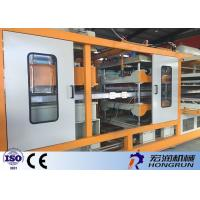 Buy cheap 380V / 220V Thermocol Plate Making Machine With Polystyrene Raw Material product