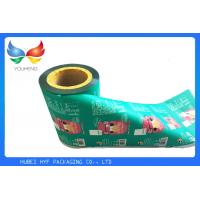 Buy cheap Translucent Plastic Sleeving Roll / Vivid Printing Plastic Roll For Packing from wholesalers