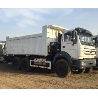 Buy cheap China Beiben dump truck 25ton dump truck price 6x4 tipper for sand/gravel/coal/earth from wholesalers