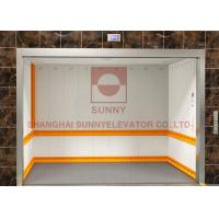 Buy cheap Stable Safe Machine Room Freight Elevator Hoist Furniture Elevator Hydraulic Type from wholesalers