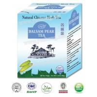 Buy cheap Natural herbal teabag Chinese healthy herbal Balsam Pear tea powder cool fever reduce diabetes blood sugar bitter melon product