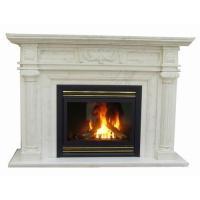 Buy cheap Modern Vented Gas Fireplace Insert , Natural Gas Fireplace Direct Vent from wholesalers