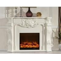 Buy cheap Remote Control Solid Wood Electric Fireplace With Deco Flame from wholesalers