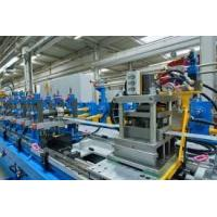 Buy cheap PU Formed Sectional Sandwich Panel Production Line Color Steel Sheet Roll Former from wholesalers