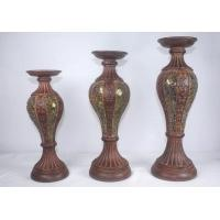 Buy cheap Polyresin Mosaic Candleholder,Candlestick from wholesalers