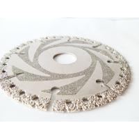 Buy cheap Wet / Dry Cut Diamond Concrete Saw Blades , Diamond Disc Cutter Blades 4.5 - 16 from wholesalers