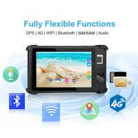 Buy cheap Capacitibe Biometric Sensor Module Rugged Biometric Tablet for SIM Card Registration  HFSecurity FP08 from wholesalers