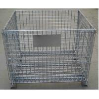 Buy cheap Storage Cage,Wire Mesh Container,Supermarket Mesh Container,Mesh Basket,50x50mm product