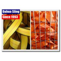 Buy cheap PP Ratchet Webbing Straps 25 mm 38 mm 50 mm 2 Ton Car Carrier Tie Down Straps Logo Printed from wholesalers