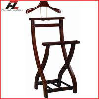 Buy cheap Hotel Folding Wood Men Valet Stand-Clothes Stand from wholesalers
