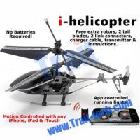 Buy cheap NEW 3CH Gyro Metal RC i-Helicopter Motion Controlled by iPhone/iPad/iTouch(777-170) from wholesalers