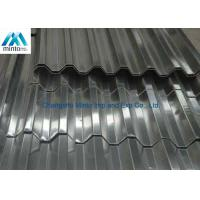 Buy cheap Roof Tile Hot Dipped Galvanized Corrugated Metal Roofing Panels Water Resistant from wholesalers