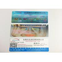 Buy cheap OEM PP / PET 3D Lenticular Business Cards , 3D Printing Business Cards from wholesalers
