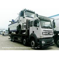 Buy cheap North Benz Heavy Duty Flatbed Wrecker Tow Truck With Hydraulic Winch 25m from wholesalers