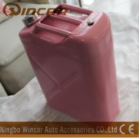 Buy cheap Pink Costomized Color Metal Petrol Jerry Cans 5L/ 10L / 20L Capacity product