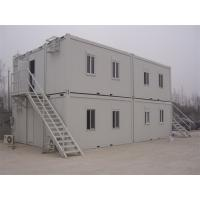 Buy cheap Prefab Flat Roof  Multi Stories Container Building Warehouse New Industrial Building from wholesalers