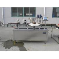 Buy cheap Rotary Type 8 Head Vitamin Liquid Filling Capping Machine For Plastic Glass Bottle Touch Screen Operation from wholesalers