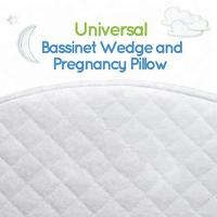 Buy cheap Waterproof Memory Foam Wedge Pillow Cotton Cover For Baby Bassinet White Color from wholesalers