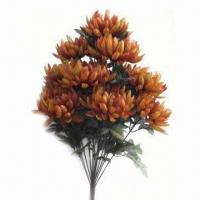 Buy cheap Artificial chrysanthemum flower bush in various sizes from wholesalers