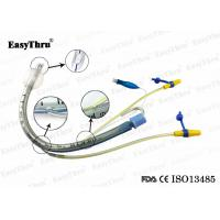 Buy cheap Transparent Cuffed 7.5 8.0 Et Tube , Orotracheal Pediatric Endotracheal Tube from wholesalers