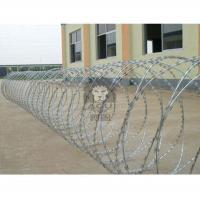 Buy cheap Razor Wire for Security Fence Razor Wire, Barbed Tape, Concertina Wire, Security Wire, Fence Wire, Razor Barbed Wire from wholesalers