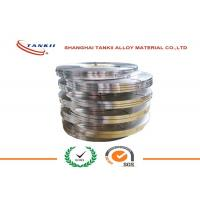 Buy cheap Pure Nickel Strip Purity > 99.5% for Cathode Tap / Battery Industry from wholesalers