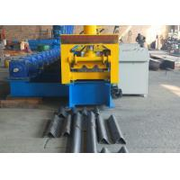 Buy cheap Type 310 Gear Driven Highway Guardrail Roll Forming Machine 37kw Reducer Power And GCr15 Roller from wholesalers