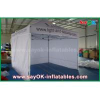 Buy cheap White Promtional Aluminum Folding Tent  Canopy Tent for Advertising product