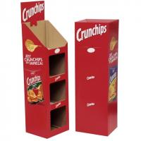 Buy cheap Ladder Floor Display, Cardboard Booth Display Stands, Potato Chips Display from wholesalers