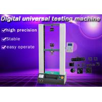 Buy cheap Digital Adjustment Electronic Universal Testing Machine Elongation Total Extension from wholesalers