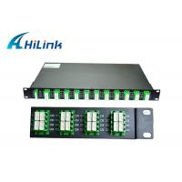 Buy cheap Data Centers 40 Channel DWDM Multiplexer Demultiplexer Compact Designed from wholesalers