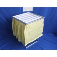 Buy cheap Aluminum frame non-woven faric  pocket filter for air Ventilation from wholesalers
