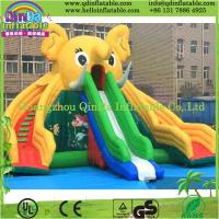 Buy cheap Guangzhou QinDa Inflatable Slide for Pool Water Slides for Sale Inflatable Elephant Slide from wholesalers