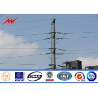 Buy cheap 800DAN Steel Utility Pole Steel Light Pole For Electrical Transmission Line from wholesalers
