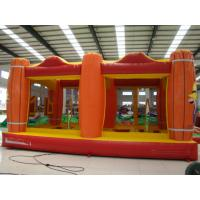 Buy cheap Interesting 0.45+0.55MM PVC Tarpaulin Inflatable Toy Inflatable Bouncer Castle from wholesalers