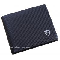Buy cheap Fashion Black Leather Men Wallet (MH-2088) from wholesalers