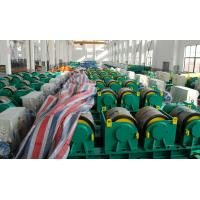 Buy cheap Two Motor Double Drive Conventional Welding Rotator Loading 150T Capacity Rubber Wheels from wholesalers