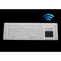 Buy cheap Wireless washable keyboard with touch pad for medical application, silicone material from wholesalers