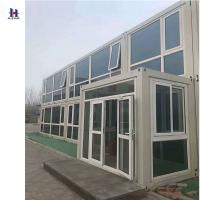 Hotel use and sandwich panel material prefabricated glass for Prefab glass house prices