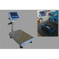 Buy cheap LED Display Heavy Duty Platform Weighing Scale for Indoor / Outdoor Weighing from wholesalers