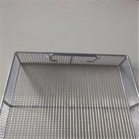 Buy cheap SS 316L Stainless Steel Storage Baskets Customizable Environmental Protection from wholesalers